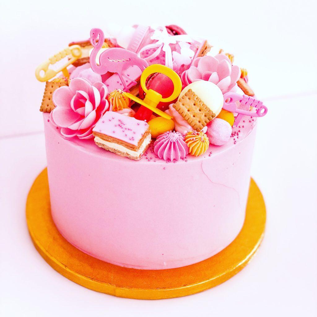 babyshower breda babygirl taart bestellen