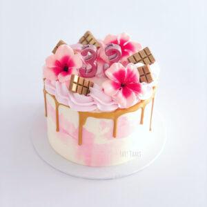 watercolor drip cake workshop breda vrijgezellen vriendinnen uitje
