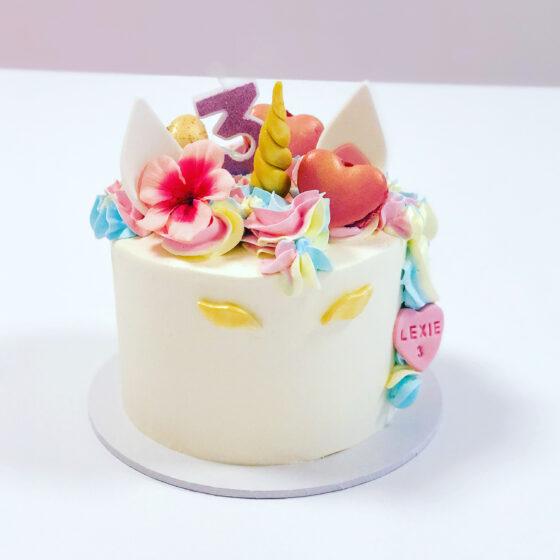 unicorn taart breda macarons rainbow bestellen breda