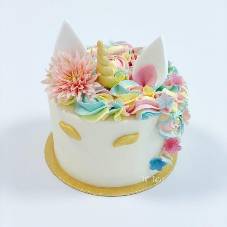 unicorn taart breda kindertaart themataart