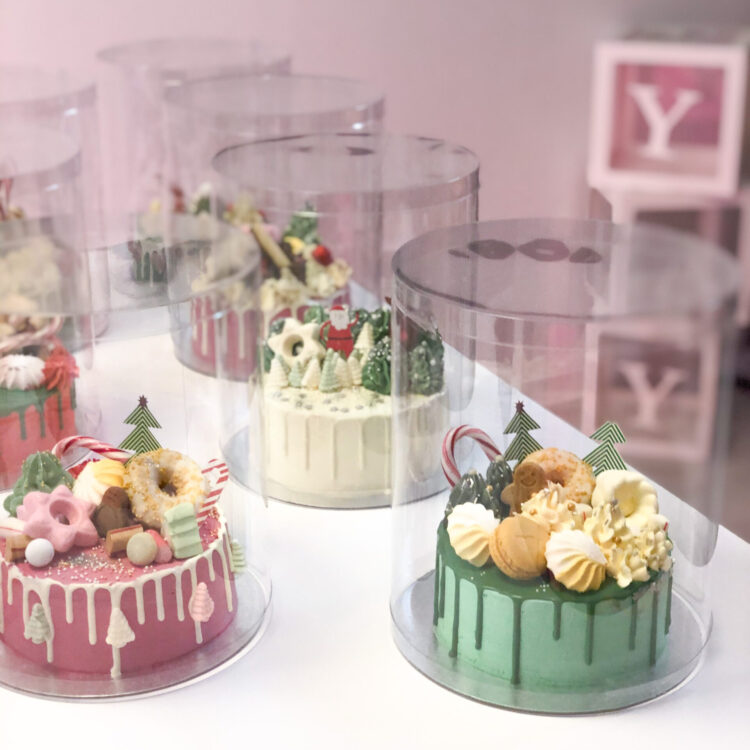 kerst workshop breda taart maken dripcake