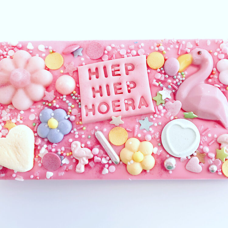 brievenbus cadeau post chocola kaartje sturen breda chocoladereep versturen reep verjaardag