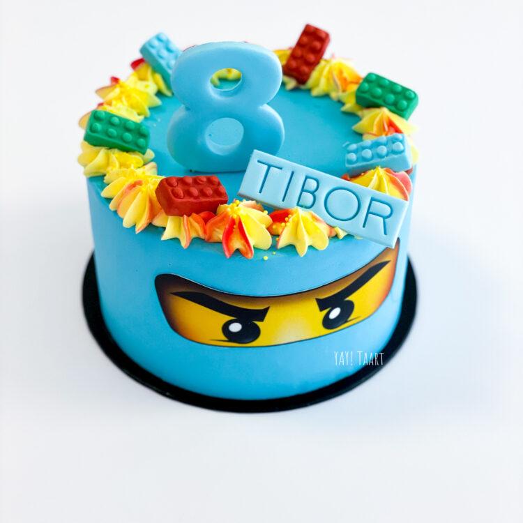 Lego Ninjago taart Breda oosterhout Roosendaal Etten-Leur Zundert Tilburg Made bestellen jongenstaart
