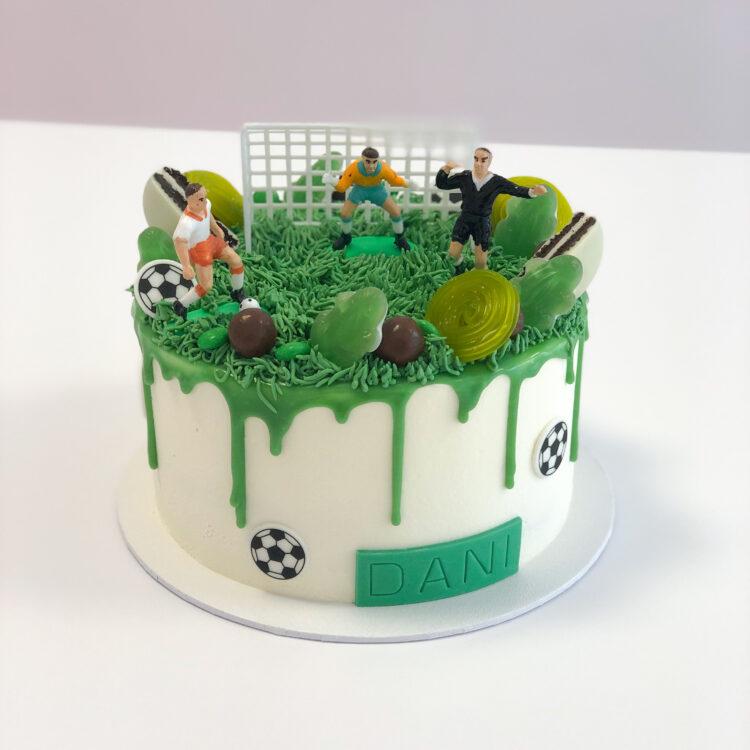 voetbaltaart themataart breda nactaart voetbal
