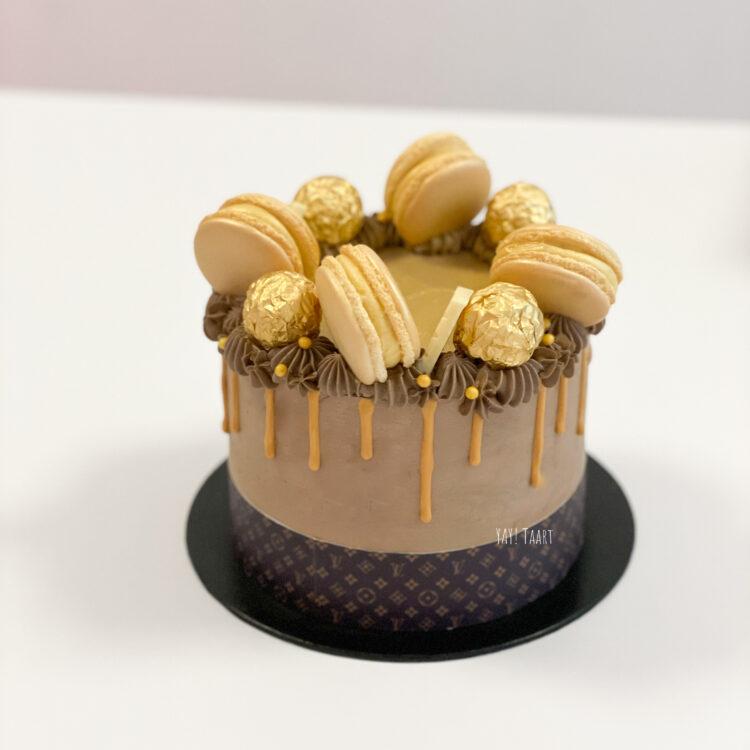 louisvuitton taart louis vuitton cake birthday cake verjaardagstaart breda bestellen macarons verlovingstaart