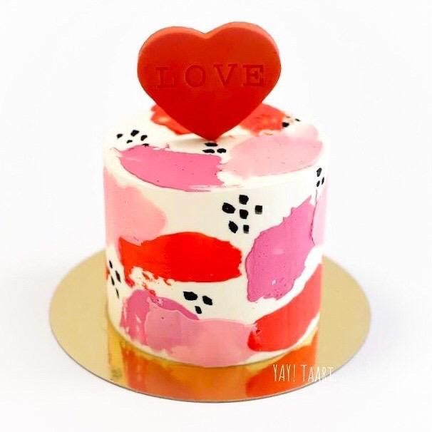valentijn valentijnsdag breda taart cadeautje liefde cake roosendaal oosterhout tilburg