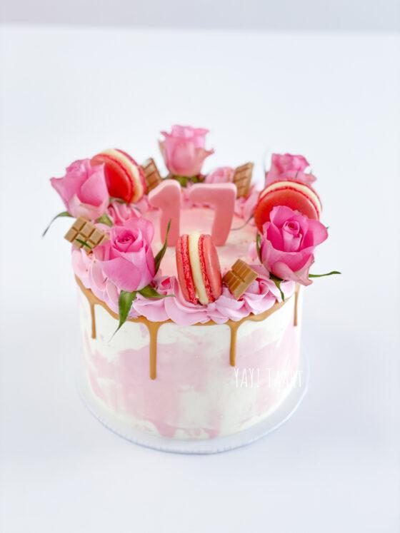 dripcake verjaardagstaart breda roosendaal tilburg oosterhout made bavel etten-leur bloemen sweet 16