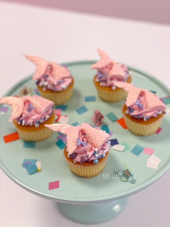 mermaid cupcakes zeemeermin unicorn breda tilburg oosterhout roosendaal made