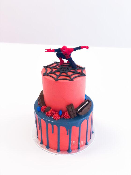 spiderman taart breda tilburg oosterhout made zevenbergen tilburg hoeven dripcake jongens