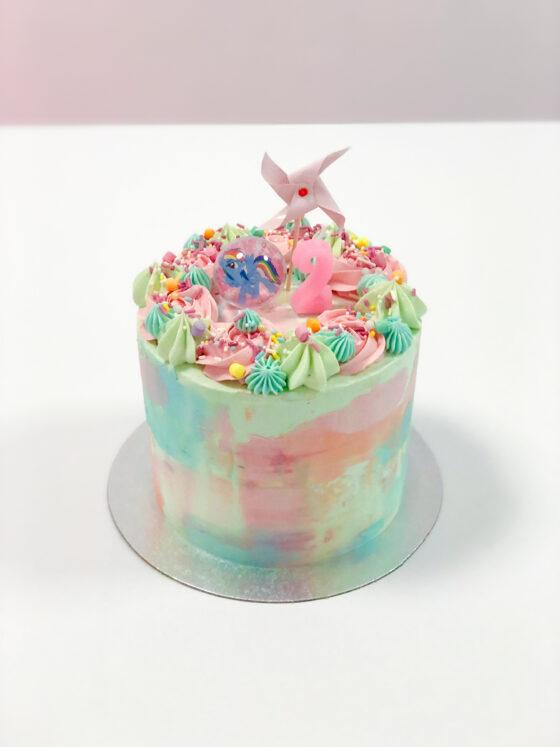 tie dye cake kindertaart taart kleuren breda oosterhout tilburg roosendaal etten-leur