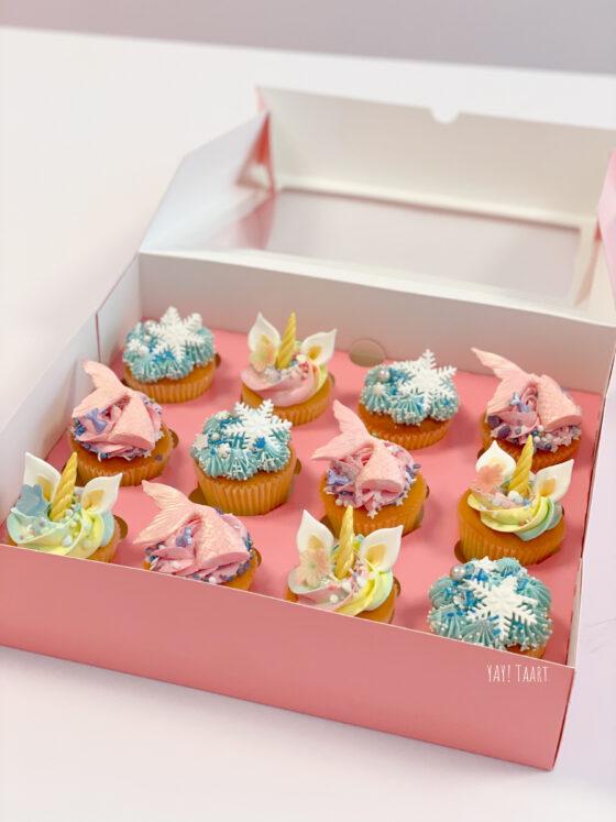 unicorn mermaid frozen cupcakes breda