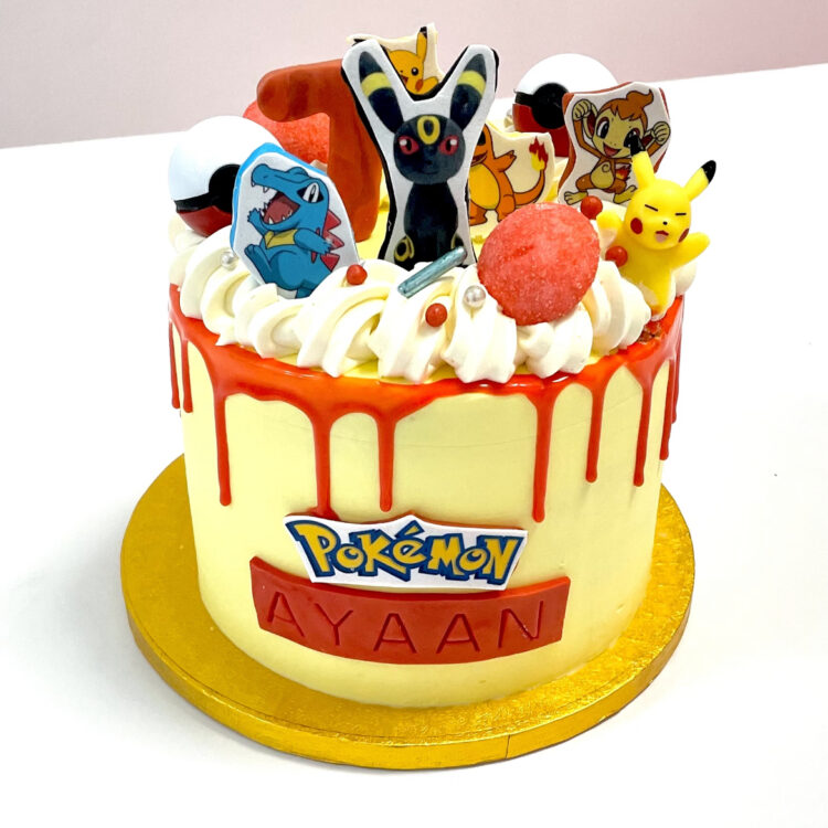Pokemon, Pikachu, film, verjaardag, taart, pokemontaart, verjaardagstaart, jongen, meisje, Breda, Roosendaal, Ulvenhout, Oosterhout, Bavel